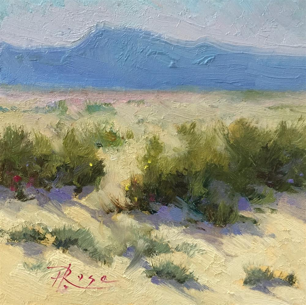 """Santa fe workshop"" original fine art by Howard Rose"