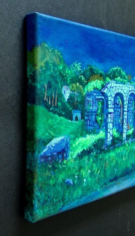 """Moonlit"" original fine art by Patricia Musgrave"