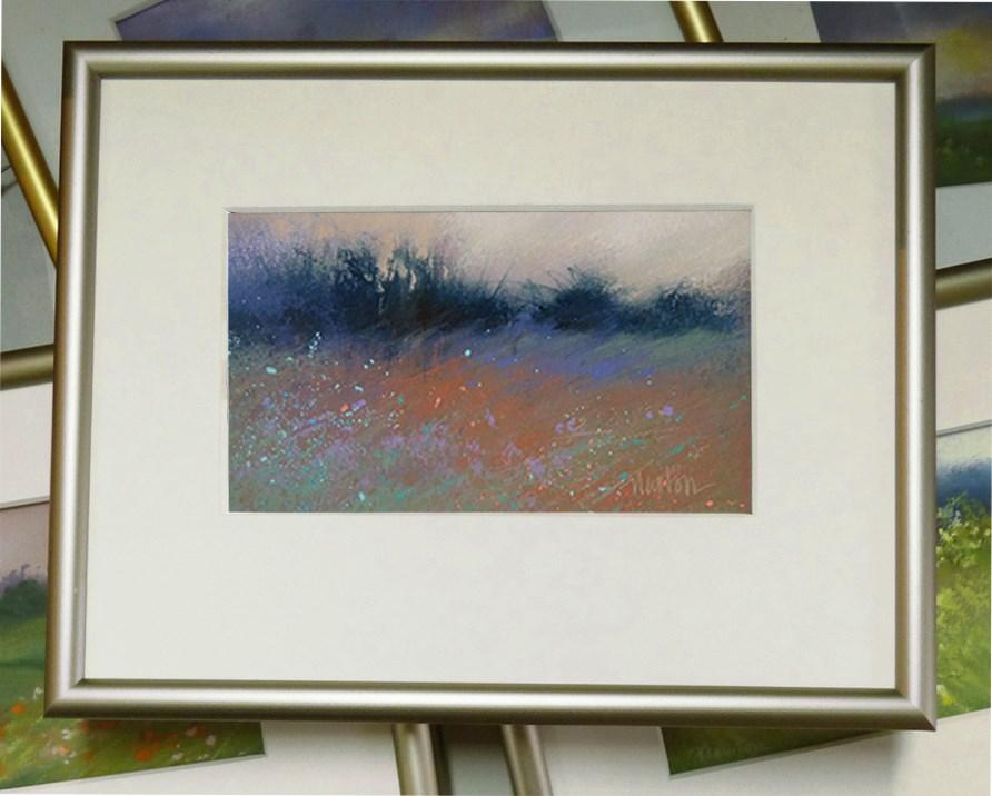 """Meadow Wind"" original fine art by Barbara Benedetti Newton"