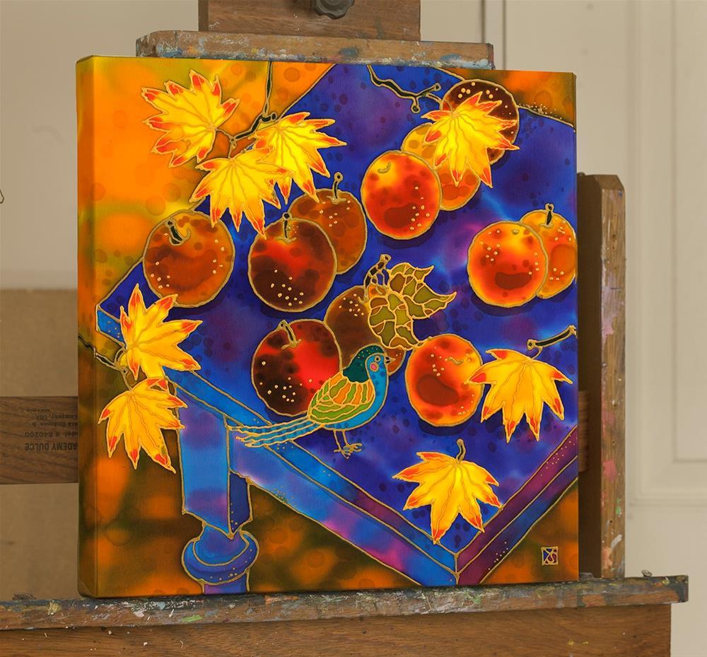 """Harvest Time"" original fine art by Yelena Sidorova"