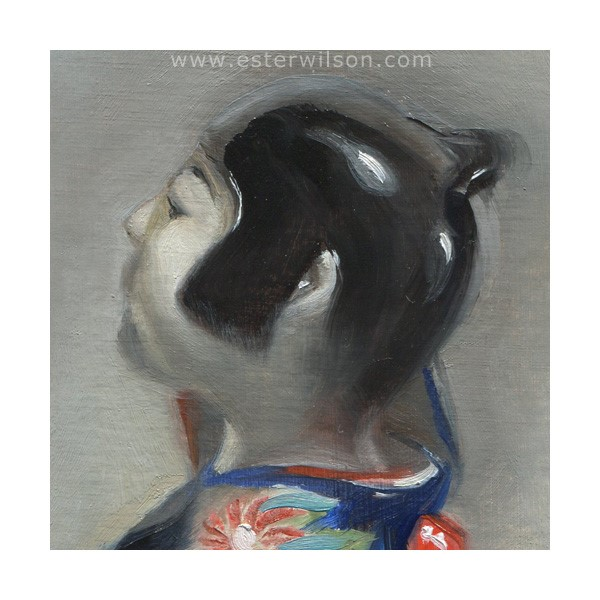 """Japanese Ceramic"" original fine art by Ester Wilson"