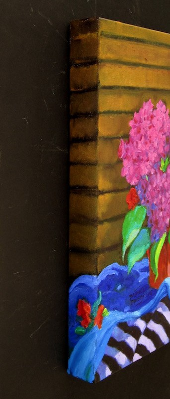 """""""Bright Flowers"""" original fine art by Patricia Musgrave"""