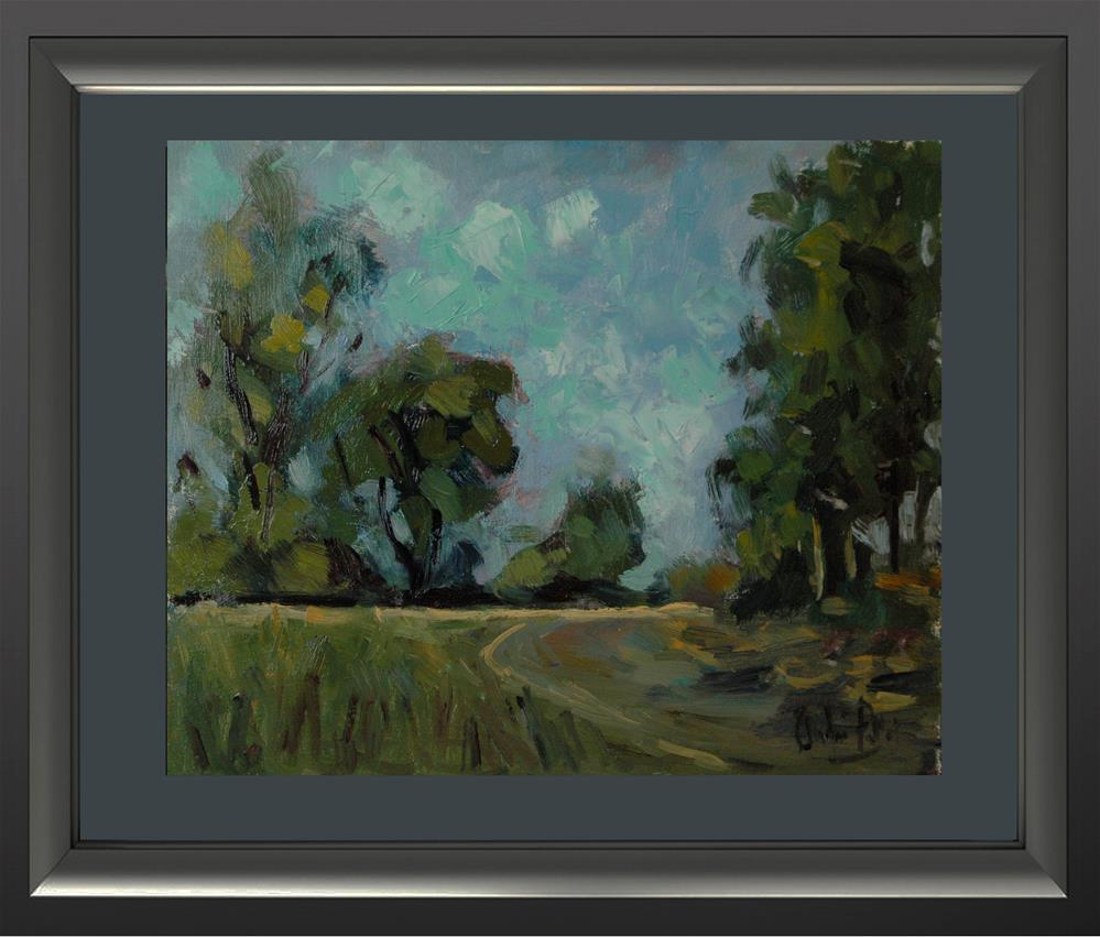 """""""Road and Sky in New South Wales"""" original fine art by Andre Pallat"""