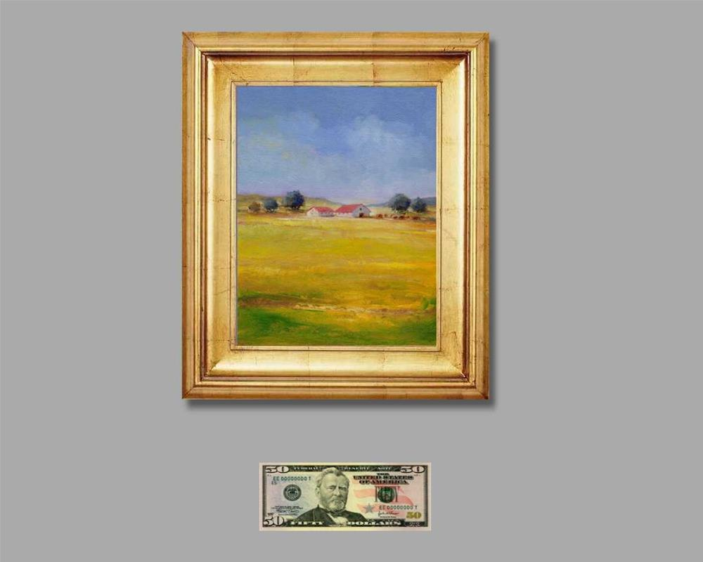 """farm"" original fine art by Mark DeBak"