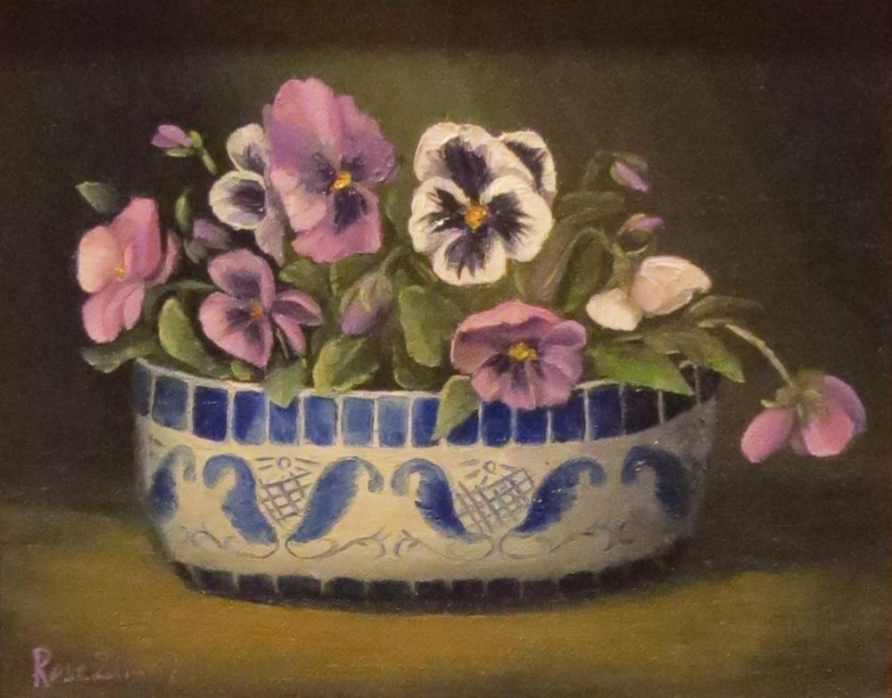 """Bowl of Onions"" original fine art by Rose Zdrazil"