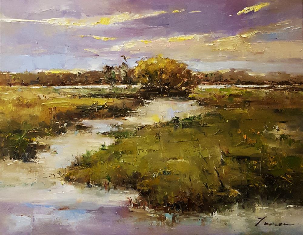 """Impression of nature.."" original fine art by Teresa Yoo"