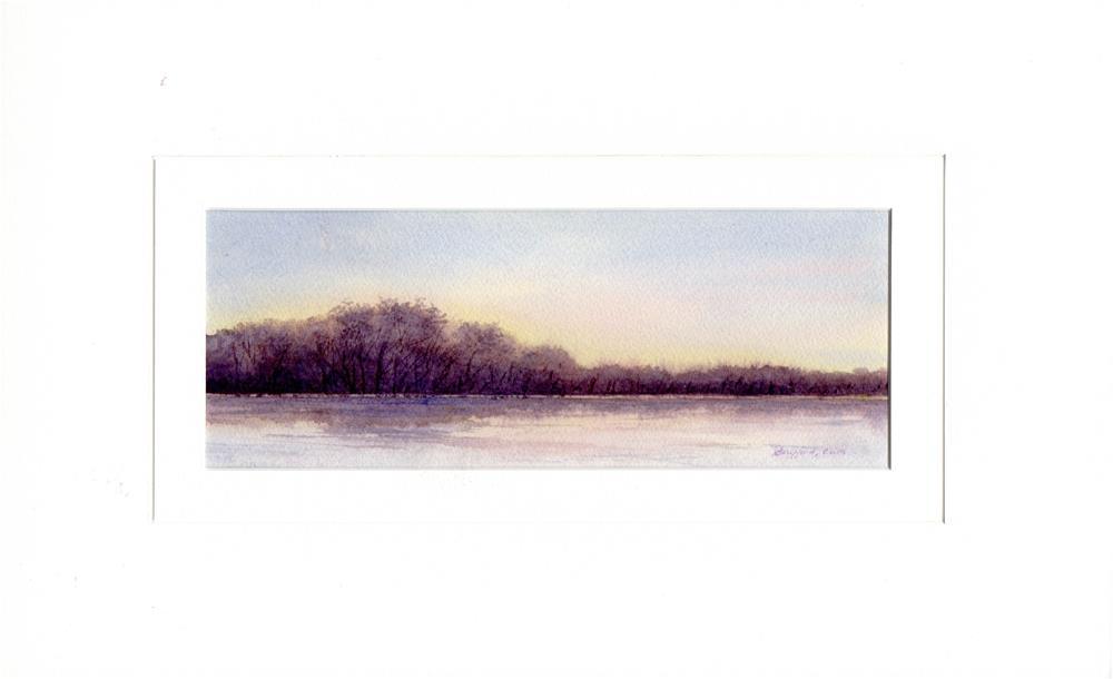"""Evening"" original fine art by Vikki Bouffard"