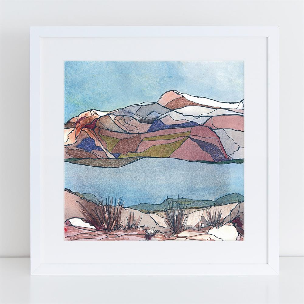 """Across the River"" original fine art by Tonya Doughty"