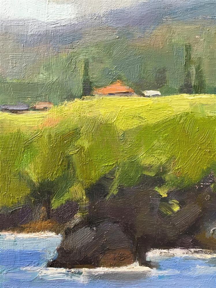"""Maka'alae coastline, Hana, Maui."" original fine art by Katya Minkina"