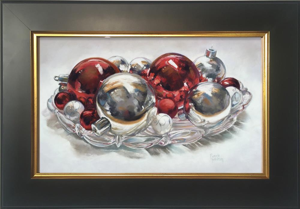 """Merry & Bright"" original fine art by Pamela Hamilton"