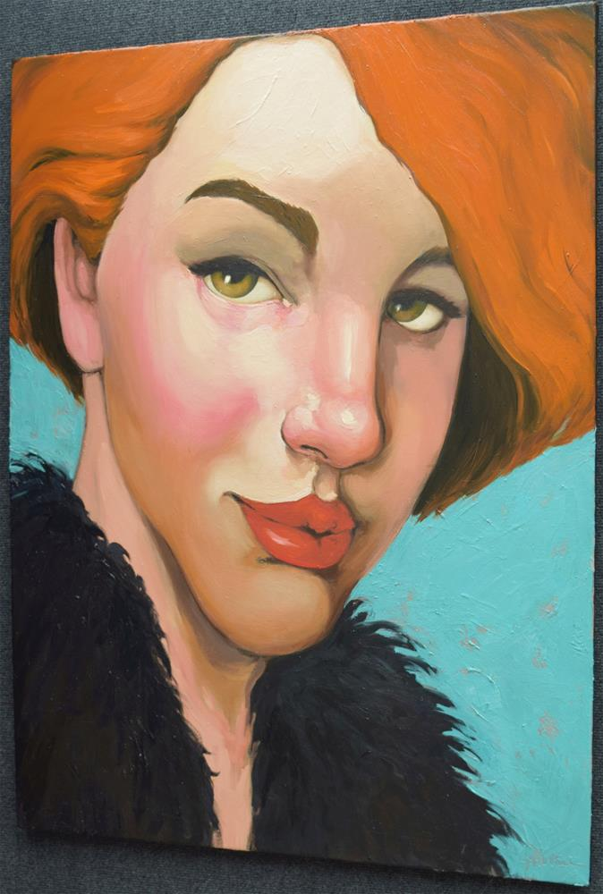 """Orange Endurance"" original fine art by Kayleen Horsma"