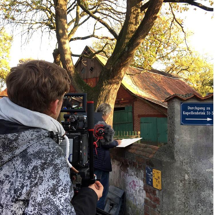 """3365 Filming Day"" original fine art by Dietmar Stiller"
