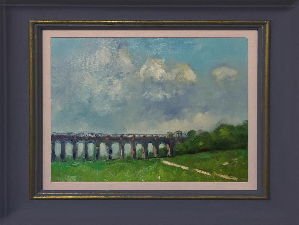 """""""Ouse Valley Viaduct"""" original fine art by Andre Pallat"""