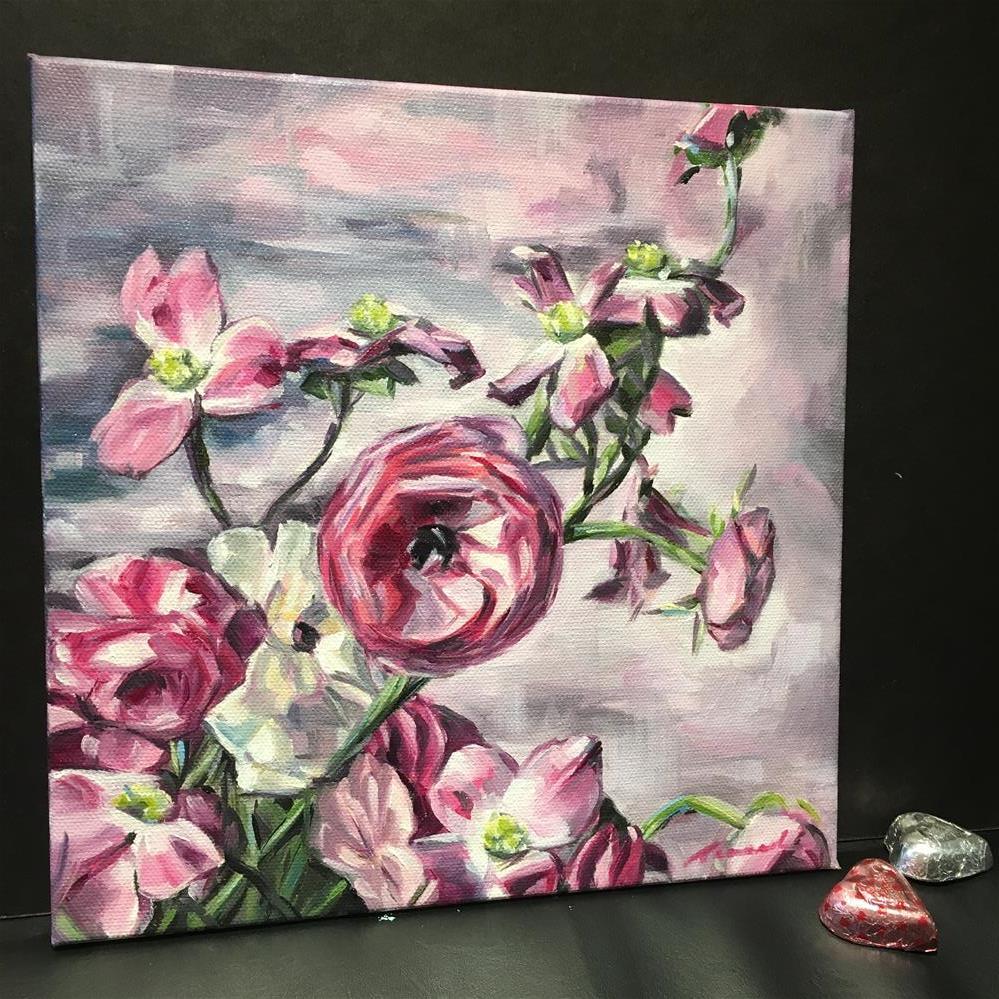 """Vintage Pastel (19-31)"" original fine art by Tamanda Elia"