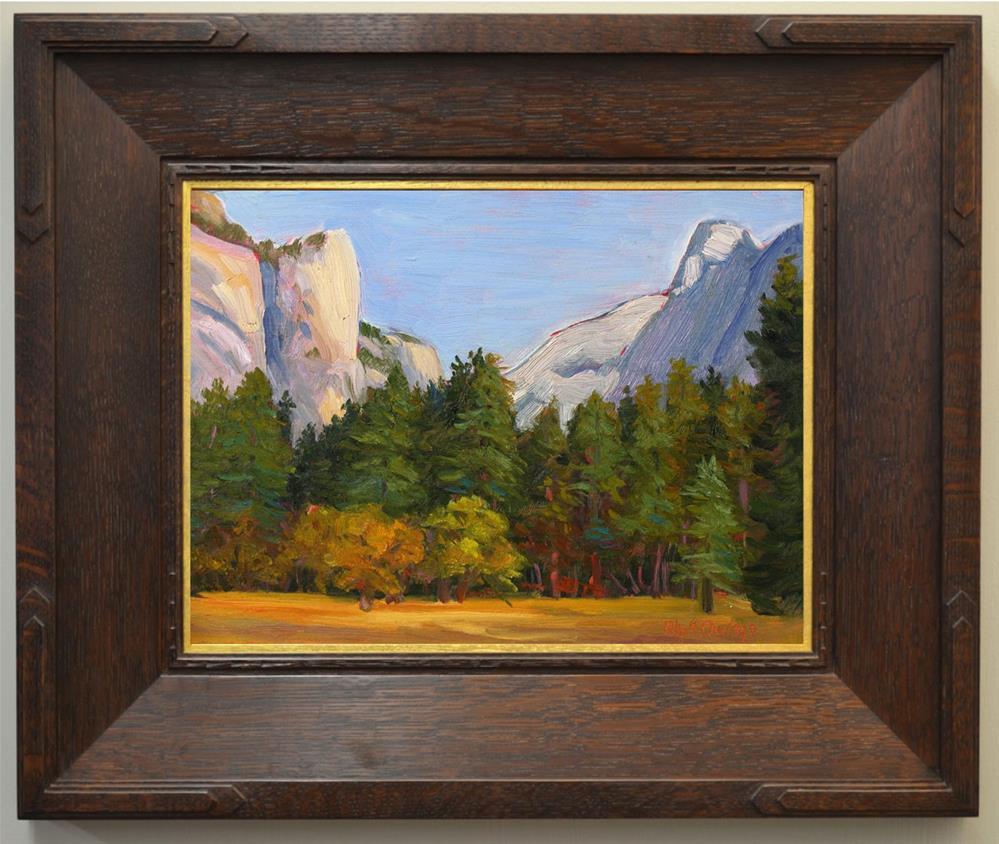 """Yosemite Autumn"" original fine art by Rhett Regina Owings"