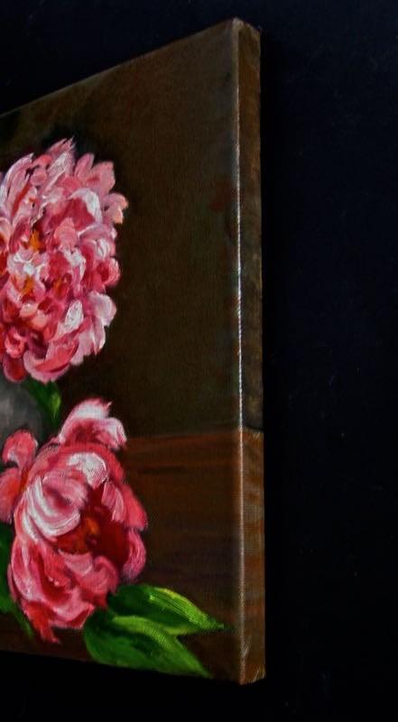 """Peonies"" original fine art by Patricia Musgrave"