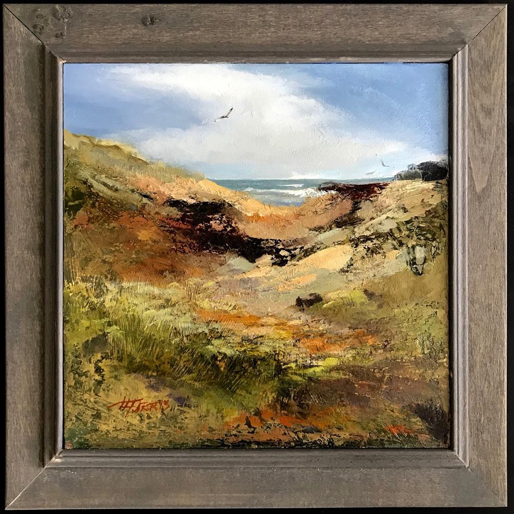"""Return to the Sea"" original fine art by Helen Harris"
