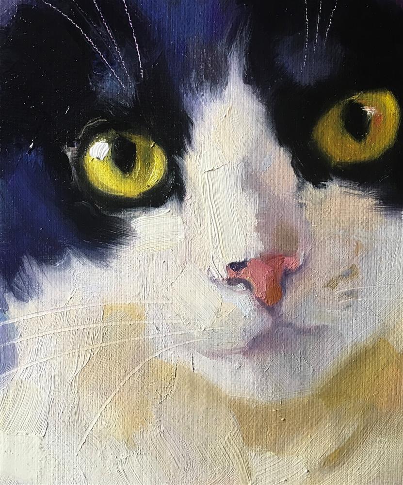 """Adopt373"" original fine art by Katya Minkina"