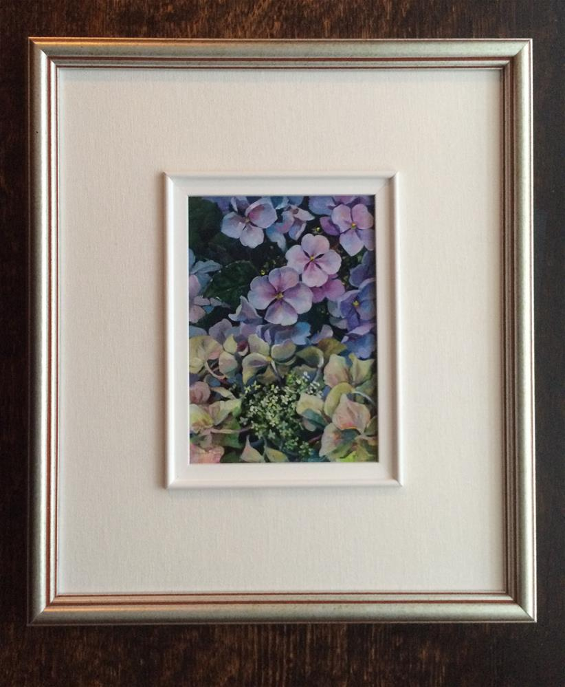 """Summer Mystery framed"" original fine art by Nicoletta Baumeister"