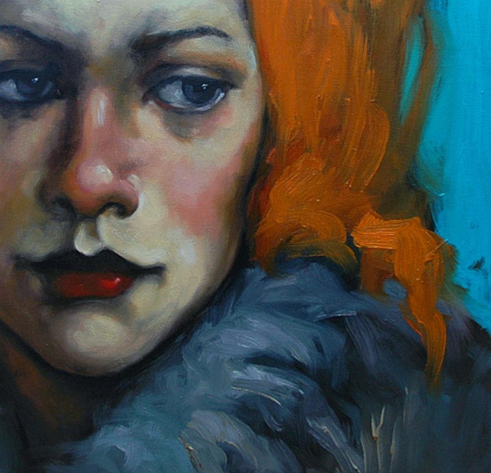 """""""On Her Side"""" original fine art by Kayleen Horsma"""