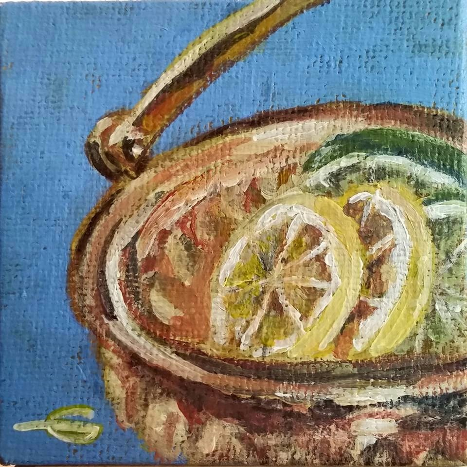"""StillLife"" original fine art by Gabriella DeLamater"