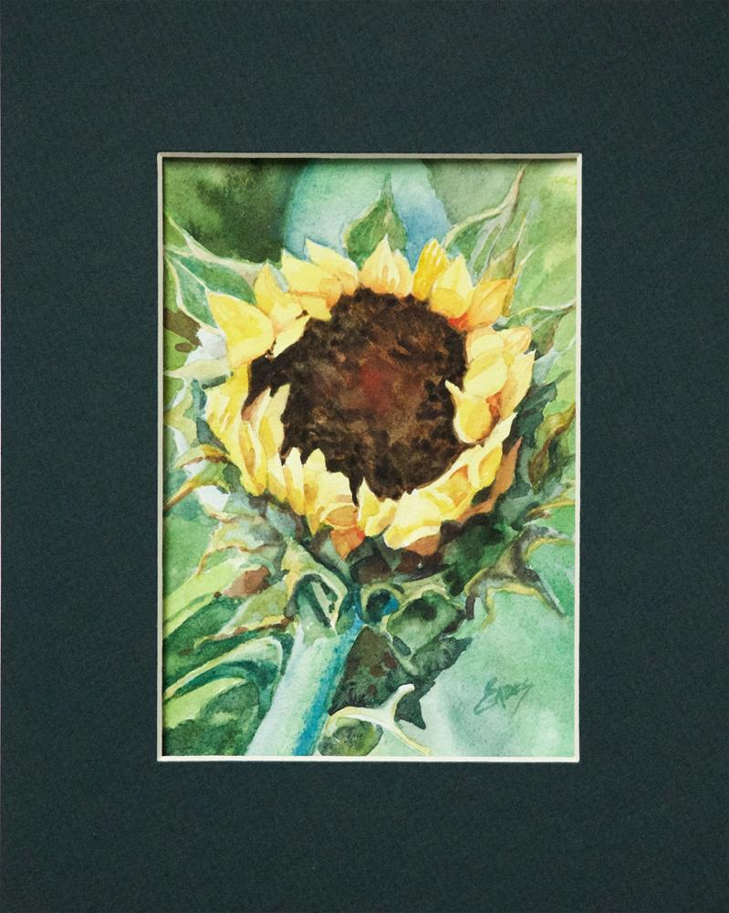 """Sunflower Season"" original fine art by Linda Eades Blackburn"