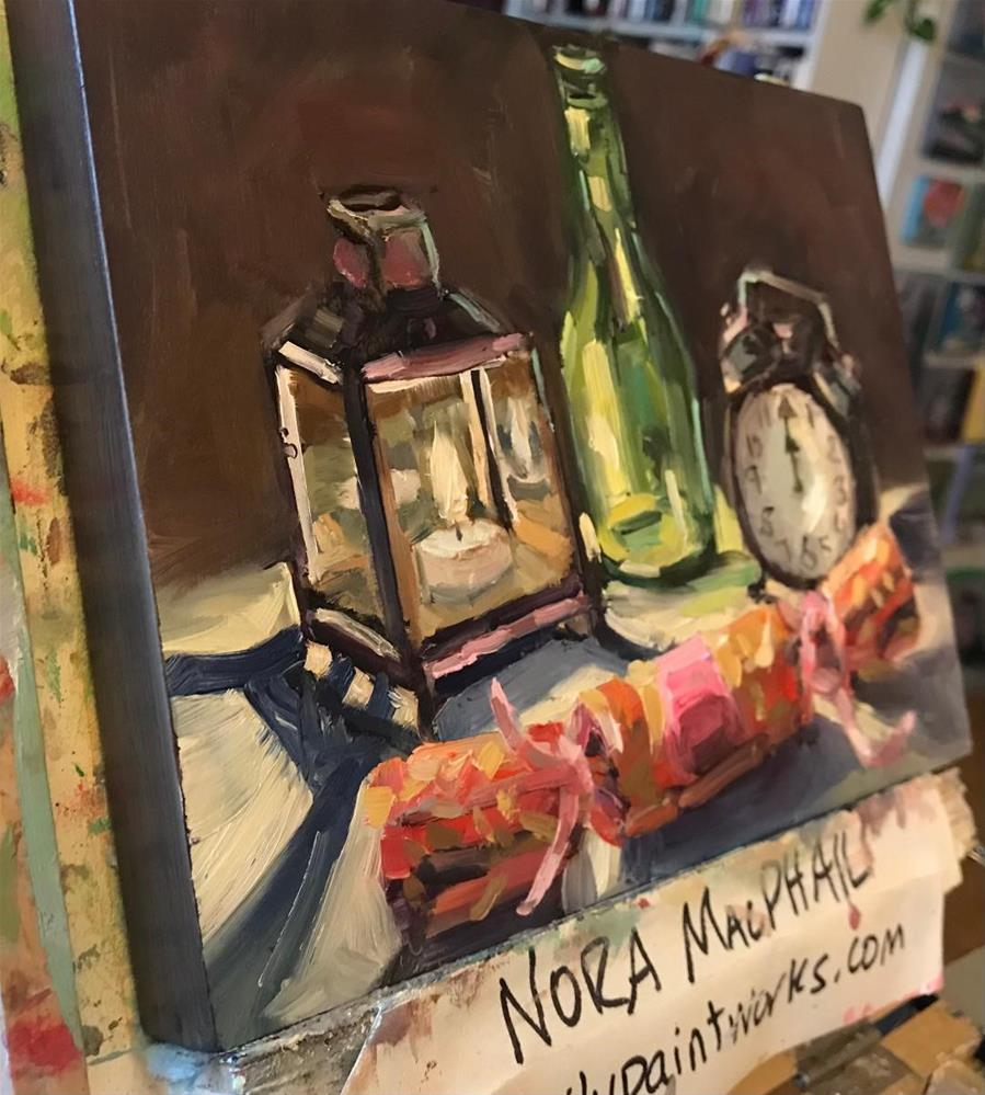 """""""midnight candle"""" original fine art by Nora MacPhail"""