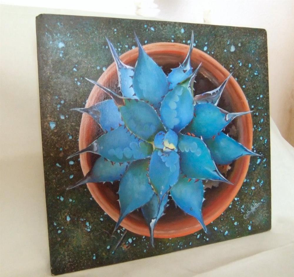 """Mandala"" original fine art by Cathy Holtom"