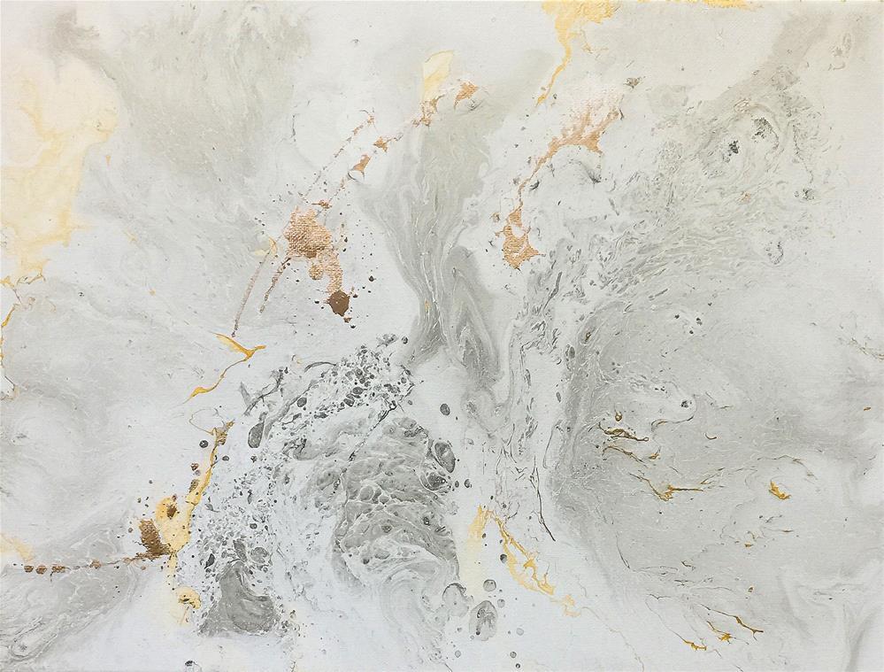 """Abstract #344"" original fine art by Sunny Avocado"