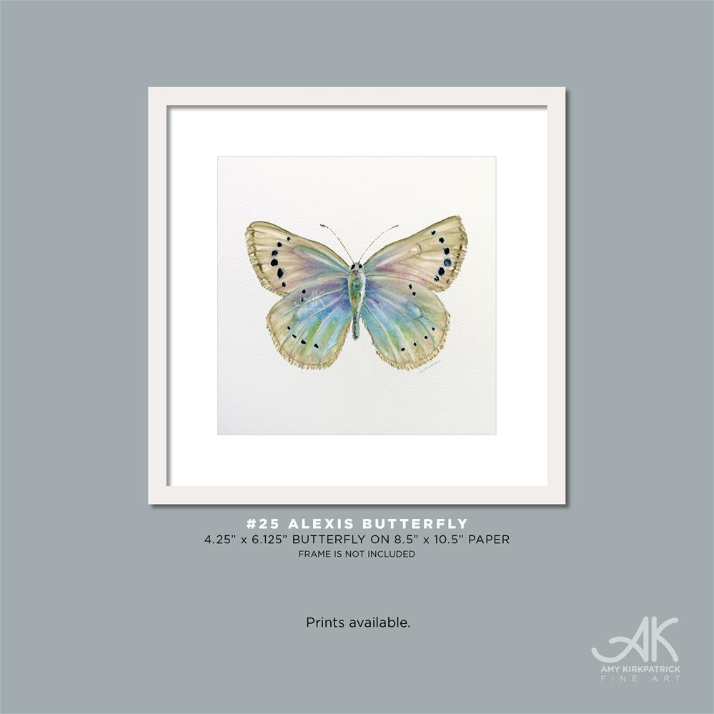 """#25 Alexis Butterfly #0334"" original fine art by Amy Kirkpatrick"