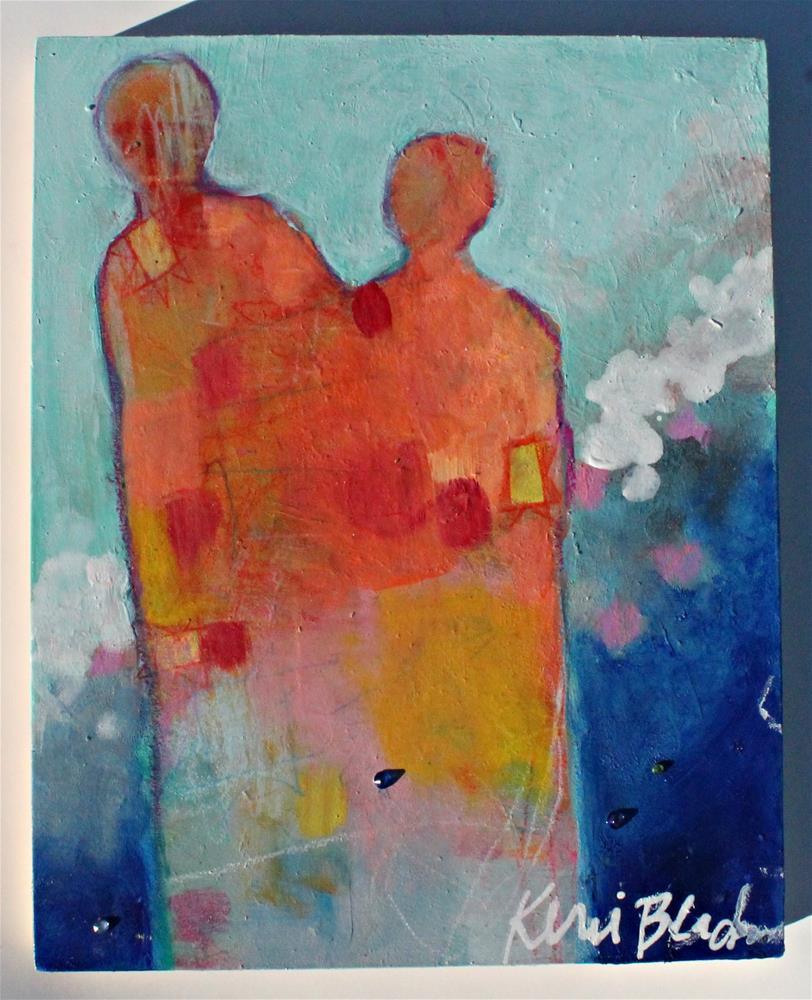 """The Couple "" original fine art by Kerri Blackman"