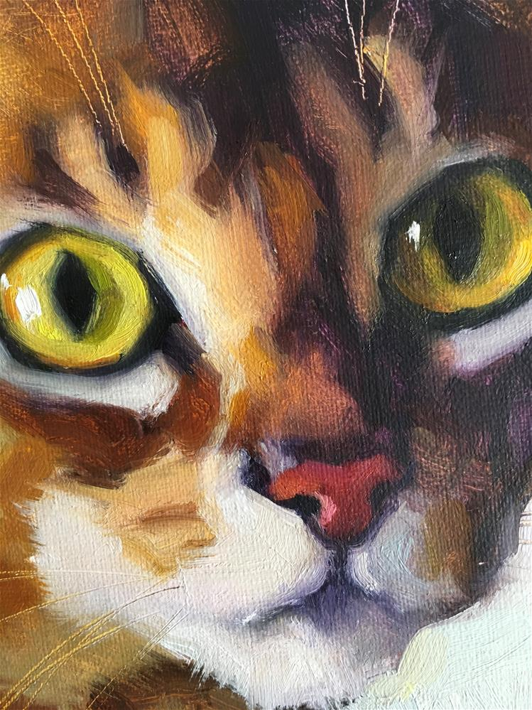 """Adopt396"" original fine art by Katya Minkina"