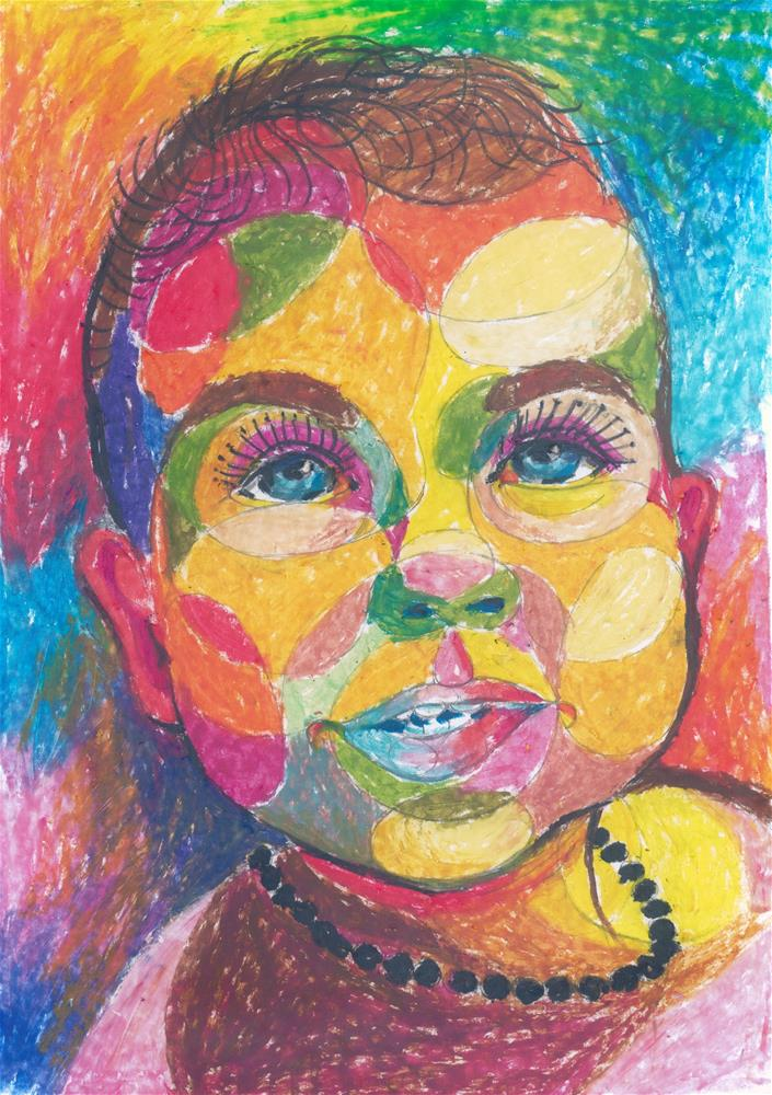 """354 ANJA"" original fine art by Trevor Downes"