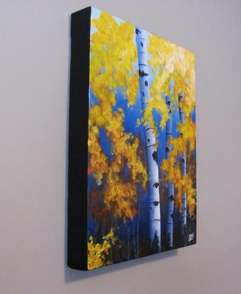 """""""September Foliage"""" original fine art by ~ces~ Christine E. S. Code"""