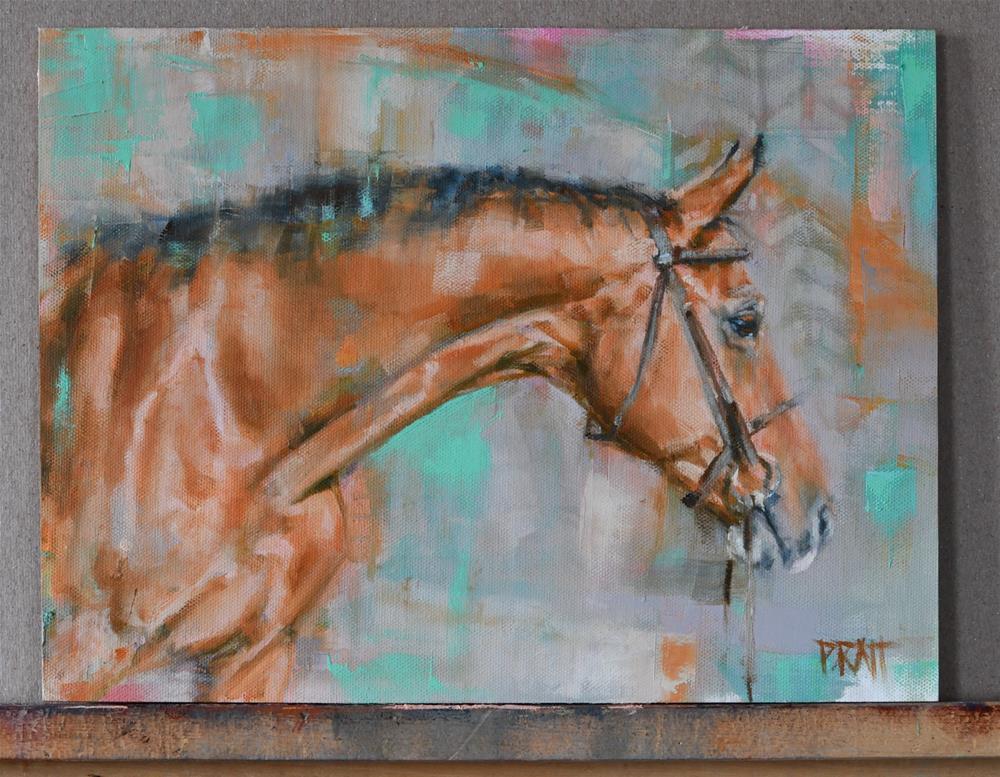 """Splash II"" original fine art by Jennifer Pratt"