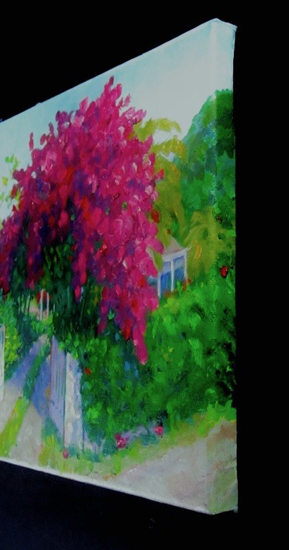 """Full Bloom"" original fine art by Patricia Musgrave"