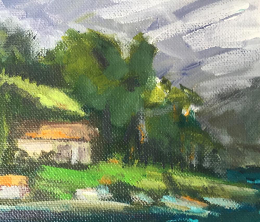 """""""View in Norway"""" original fine art by Alina Vidulescu"""