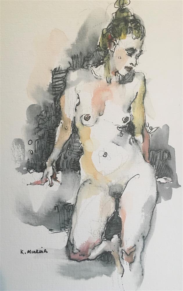 """Figuary36"" original fine art by Katya Minkina"