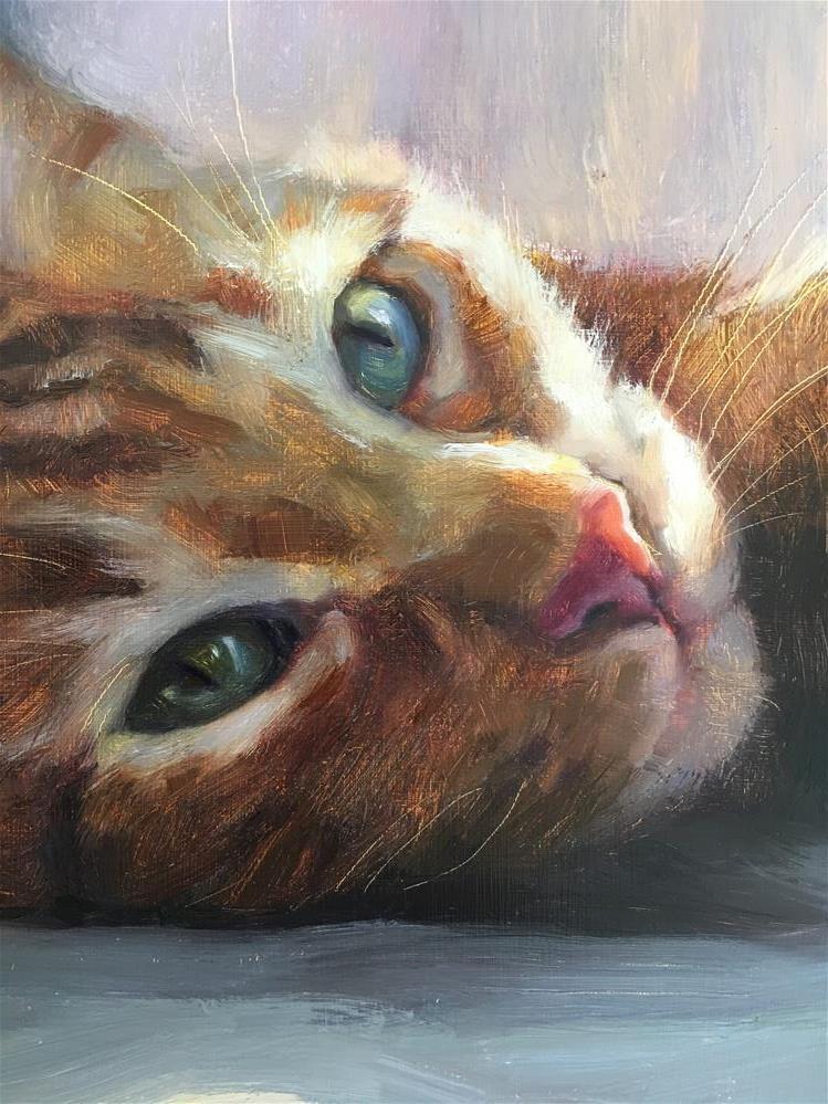 """Adopt298"" original fine art by Katya Minkina"