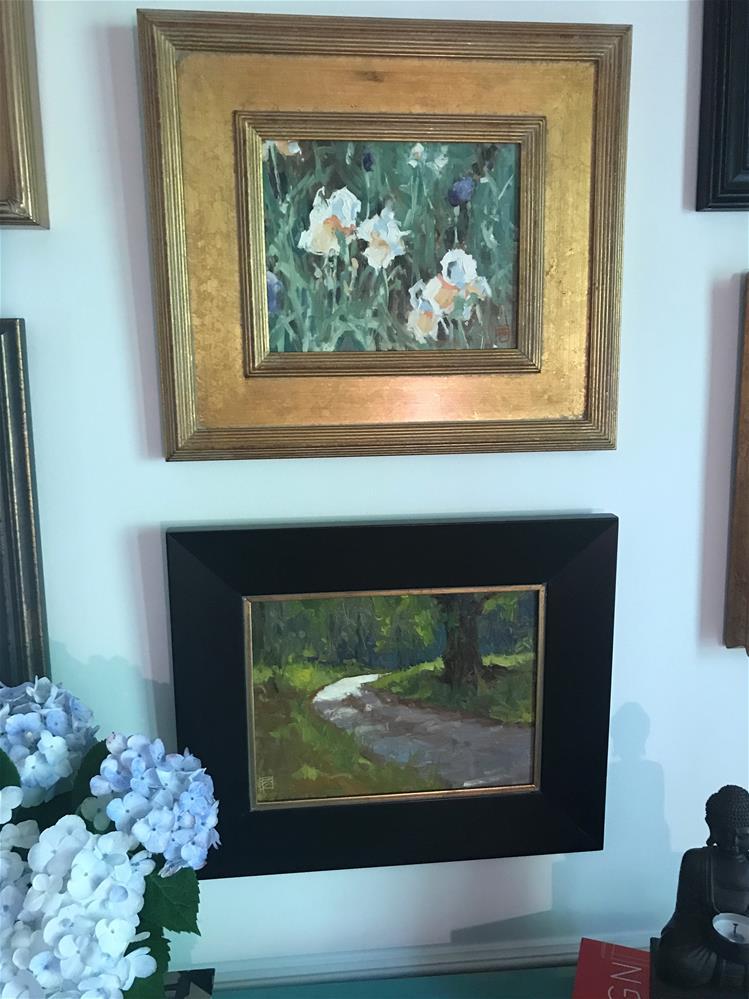 """Irises"" original fine art by David Boyd Jr"