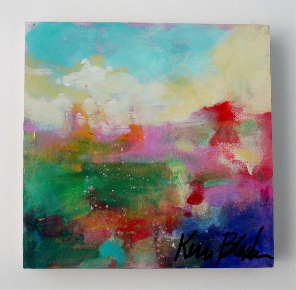 """A Glance Toward the Distance "" original fine art by Kerri Blackman"