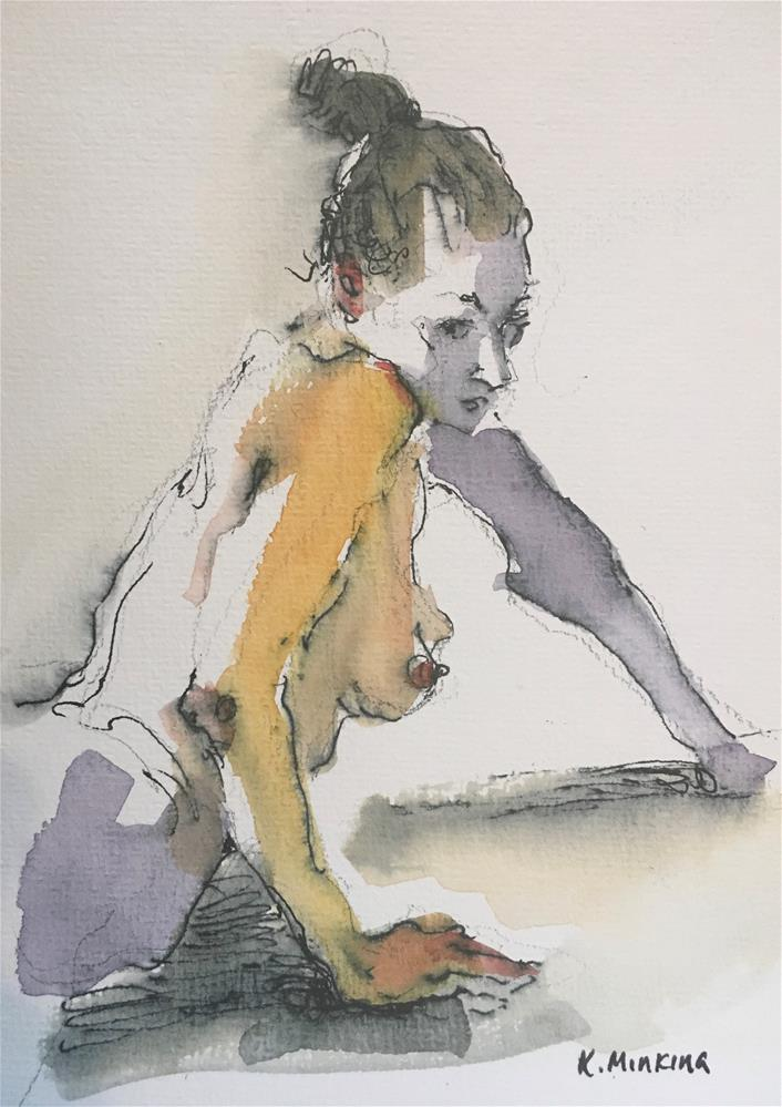 """Figuary42"" original fine art by Katya Minkina"