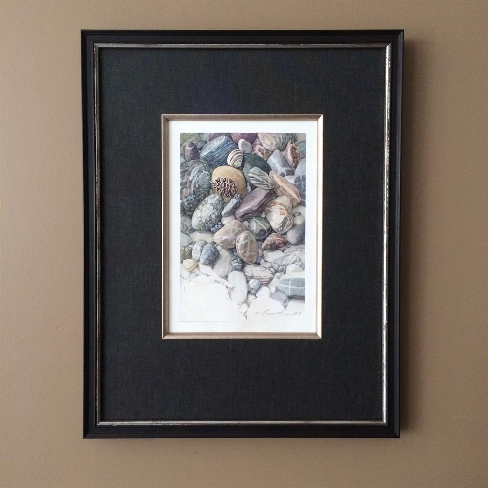 """Balanced framed"" original fine art by Nicoletta Baumeister"