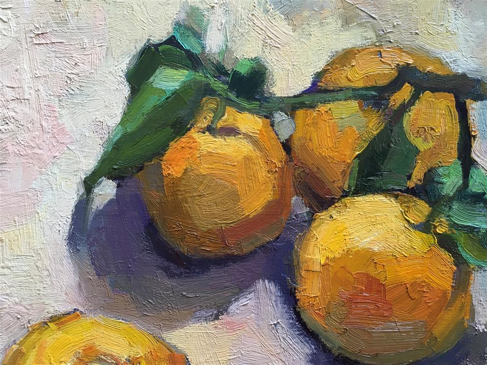 """Hana.Harvest#13"" original fine art by Katya Minkina"