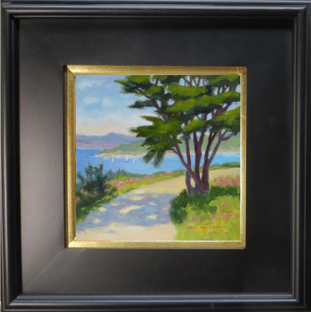 """Along the Path in Pacific Grove"" original fine art by Rhett Regina Owings"