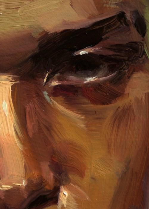 """""""Scathing"""" original fine art by John Larriva"""
