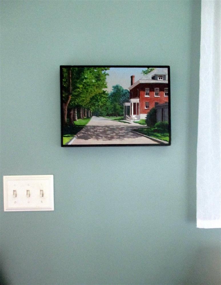 """Officer's Club, Old Fort Niagara, New York"" original fine art by Lisa Wiertel"