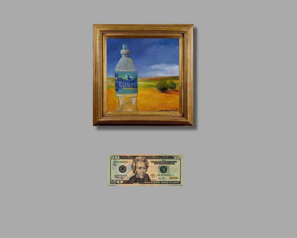 """""""clear water"""" original fine art by Mark DeBak"""