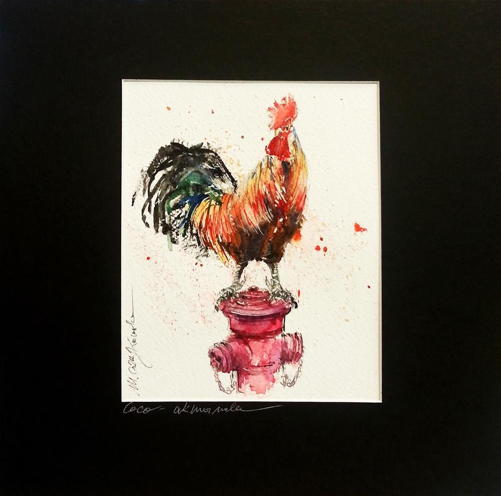 """Florian 2"" original fine art by Marlena Czajkowska"