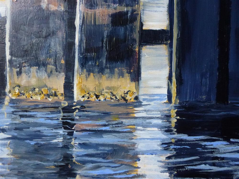 """San Juan Islands No. 1"" original fine art by Judith Elder"